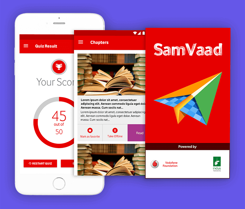 Samvaad Helped Vodafone Foundation Overcome its Digital Roadblock