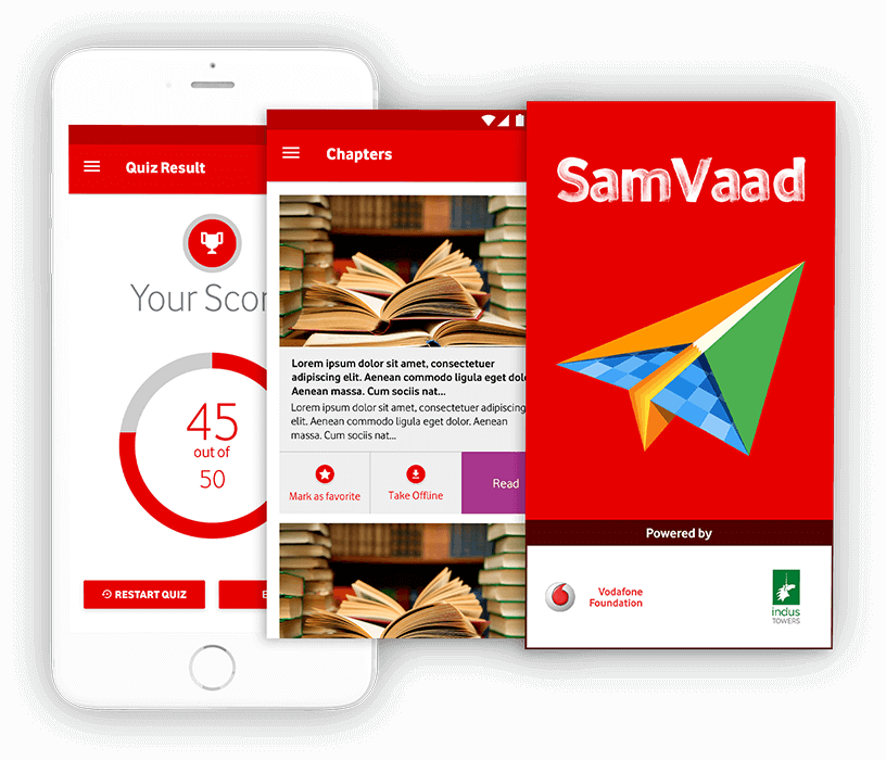Samvaad Helped Vodafone Foundation Overcome its Digital Roadblock - Edutech